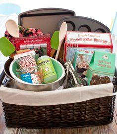 Baking basket. Great baker lover gift idea