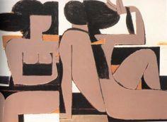 Yiannis Moralis Ecole Art, Greek Art, Figure Painting, Fresco, New Art, Sculpture Art, Illustration, Abstract, Artwork