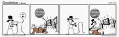 Cartoons By Sketch Studios, The Blog: If Ya Can't Beat 'Em...