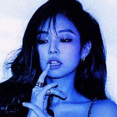 Bad Girl Aesthetic, Blue Aesthetic, Kpop Aesthetic, Kim Jennie, Korean Girl, Asian Girl, Kim Jisoo, Blackpink Photos, Pictures