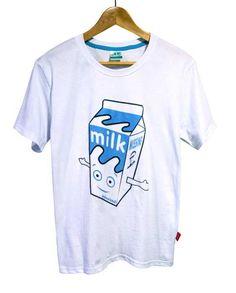 【Blur Milk Boy】ブラー ミルクボーイ Tシャツ ホワイト(S・M)4