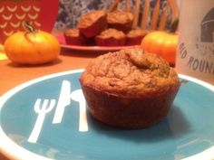 Moist Paleo Pumpkin Muffins