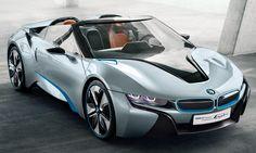 the BMW 'i8 spyder' concept