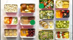 7 Creative Back-to-School Lunches | The back-to-school crunch is upon us. This year, instead of that slightly squished PB &J, send the kiddos to school with one of these fresh lunch box ideas.