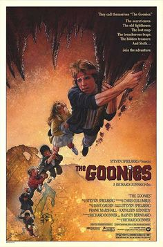 Goonies Never Say Die. Directed by Richard Donner/ 1985. (Yes 1985).