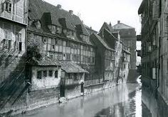 Hannover Altstadt um 1920