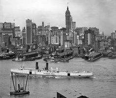 Manhattan, New York City. Circa 1908.