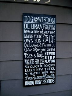 Kennel Grooming Shop DoG WisDom TypOgraphy by CollarsforCanines