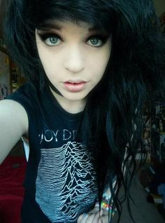 Incredible People Fall In Love Emo Girls And Shy39M On Pinterest Short Hairstyles Gunalazisus