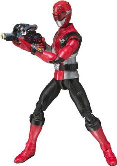 """BANDAI S. Figuarts Tokumei Sentai Go-Busters """"Red Buster"""" (Japan Import): Manufactured by: Bandai Product name: SH Figuarts Tokumei Sentai Go-Busters Red Buster Power Rangers Action Figures, Power Rangers Toys, Power Rangers Ninja, Mighty Morphin Power Rangers, Go Busters, Cara Dune, Blue Mask, Wwe Womens, Tv"""