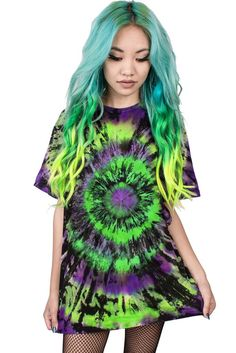 TWILIGHT ZONE - TIE-DYE BLANK – Teen Hearts Clothing - STAY WEIRD