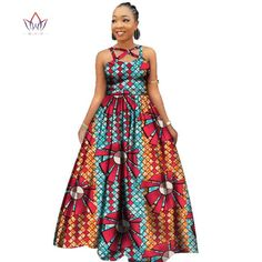 African Print Dresses, African Fashion Dresses, African Dress, African Traditional Wedding Dress, Traditional Outfits, A Line Long Dress, African Dashiki, Ghanaian Fashion, African Attire