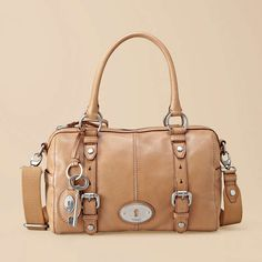 Love this Fossil Maddox Satchel, color Camel... price $198
