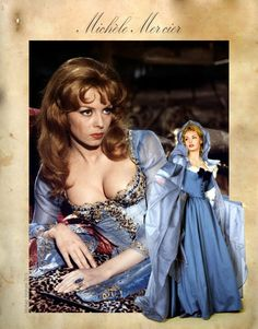 Michele Mercier Angelique Marquise des Anges by Morhain-Stef on DeviantArt Vintage Hollywood, Hollywood Glamour, Hollywood Actresses, Italian Actress, French Actress, Beautiful Celebrities, Beautiful Actresses, Michelle Mercier, Gina Lollobrigida