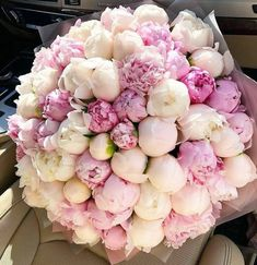 Choose your bouquet for the most important occasion 💜 Such tender peonies will suit every beautiful woman😍 Double tap & TAG your besties… Luxury Flowers, My Flower, Fresh Flowers, Beautiful Flowers, Pink Flowers, Wedding Bouquets, Wedding Flowers, Peonies And Hydrangeas, White Ranunculus