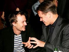 "BROTHERS' ""GRIMM"" photo | Heath Ledger, Matt Damon"