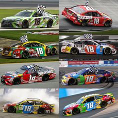 8 wins for 18 in 2018 Kyle Busch Car, Kyle Bush, Kyle Busch Motorsports, Nascar Race Cars, Mitsubishi Motors, Auto Racing, Posts, National Association, Awesome Shoes