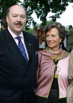 3x-Duchess Donata of Mecklenburg-Schwerin married Alexander von Solodkoff on 19 September 1987. Three children.
