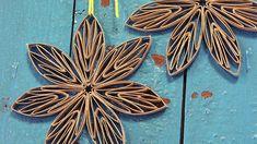 Askartele kierrätysmateriaaleista: kukka vessapaperirullasta