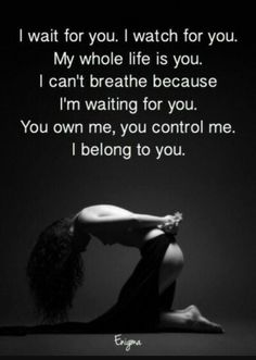 Risultati immagini per master dominant Im Waiting For You, I Wait For You, Kinky Quotes, Sex Quotes, Dominant Master, Submission Quotes, Daddy Rules, Daddys Girl, Frases