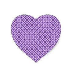 Purple Diamond Shapes In Diamond Shapes Pattern Heart Sticker Shops, Purple Diamond, Shape Patterns, Diamond Shapes, Purple Hearts, Glitter, Stickers, Gifts, Design