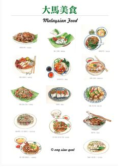 Hand drawn of an Asian or Malaysia Chinese local traditional food. Hand drawn of an Asian or Malaysia Chinese local traditional food. Malaysian Cuisine, Malaysian Food, Food Doodles, Food Sketch, Food Cartoon, Singapore Food, Food Drawing, Food Menu, Food Food