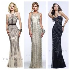 Want to be as glamorous as Daisy in 'The Great Gatsby'? No problem! Faviana has it all! Now you can go back to the 1920s with Faviana styles S7596, S7600 and S7372! Check them out on faviana.com and follow @faviana_ny on Instagram!! #FavianaBrandAmbassador #FavianaGirl #TheGreatGatsby