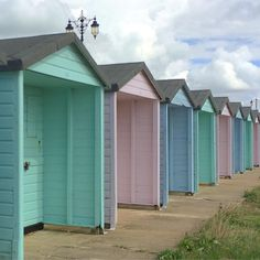 And another, just because I love these beach huts #beachhuts #southsea #eastney