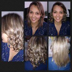 Transformação Luciana #shinemol #cristallohair #cachos visite www.facebook.com/cristallohair
