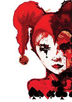 Harley Quinn - The Joker's Concubine Game Design, Joker And Harley Quinn, Illustrations, Graphic, Art, Art Background, Illustration, Kunst, Performing Arts