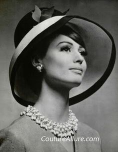 1960s--the last great decade of hats. Wish I were back in those days, but only for the fashion and of course the HATS!