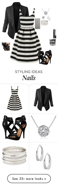"""""""Untitled #4446"""" by gone-girl on Polyvore featuring LE3NO, Warehouse, Gucci, MoMo, Robert Lee Morris, Michael Antonio, Native Union and Charlotte Russe"""