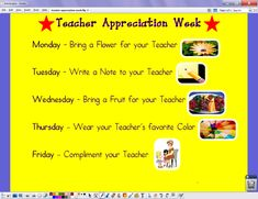 teacher appreciation week | is teacher appreciation week show your appreciation for teachers at ...
