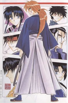 Rurouni Kenshin.  Back to my early days. I loved this anime. Still do.