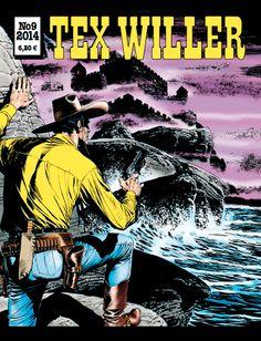Tex Willer -lehti no 9/2014. #egmont #sarjakuva #sarjis #sarjakuvalehti