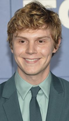 Evan Peters Portrait Collection. When He Flashed That Stunning Smile.