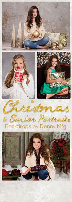 Vast selection of Christmas backdrops for photography. We have everything from snowy holiday scenes to traditional Christmas backgrounds.