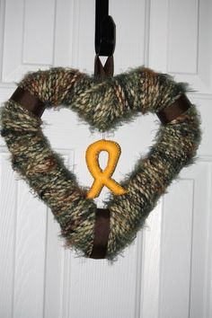 Support our troops wreath