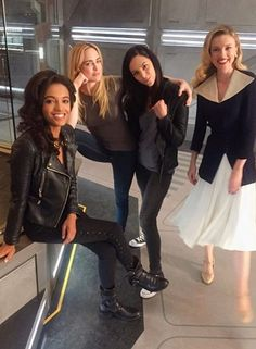 The Women of  Legends of Tomorrow