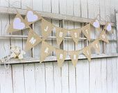 Just Married banner or photo prop