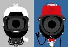 Darcel x Karl + Pharrell