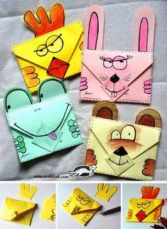 Okulöncesi Sanat ve Fen Etkinlikleri: Mektup Zarf Yapımı ile Tavşan