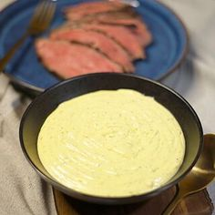 Bernaise Sauce, Pesto Dip, Creme Brulee, Pina Colada, Food And Drink, Dessert, Cooking, Ethnic Recipes, Dressing