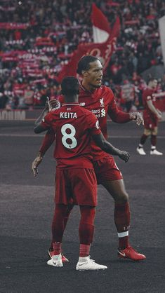 Liverpool Anfield, Salah Liverpool, Liverpool Players, Liverpool Football Club, Liverpool Fc Wallpaper, Memphis Depay, Premier League Soccer, This Is Anfield, You'll Never Walk Alone