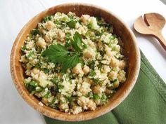 Spring chickpea quinoa salad | Chelsea's Healthy Kitchen