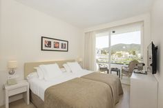 Double Plus Room - Canyamel Park Hotel & Spa in Canyamel, Capdepera. Mallorca  #Room #HotelRoom #decoration #hotel #views #quiet #HotelCanyamelPark Spa Hotel, Rooms, Bed, Furniture, Home Decor, House Decorations, Home, Bedrooms, Homemade Home Decor