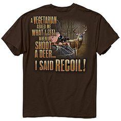 No regrets, just recoil!