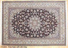 Nain Rugs: Nain 625 kpsi wool w/ silk carpet Jacobsen Rugs