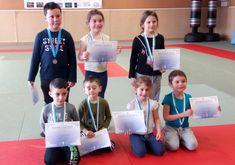 Le Judo club proposait un stage pendant les petites vacances de février.