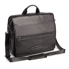 Leather Executive Bag of Holding - Classy looking tech bag with room for ALL of the things